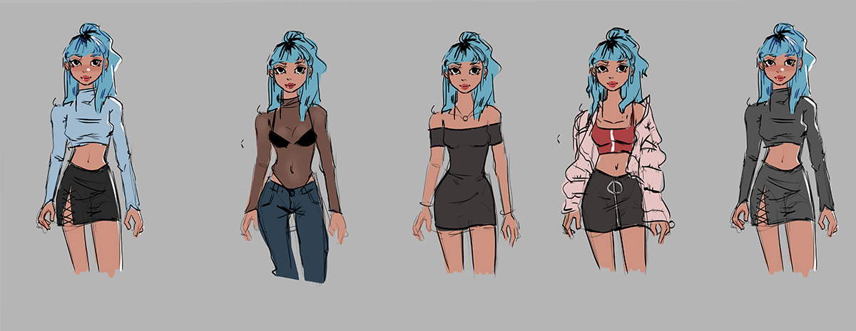 Felicia Kiessling -outfitskarakter
