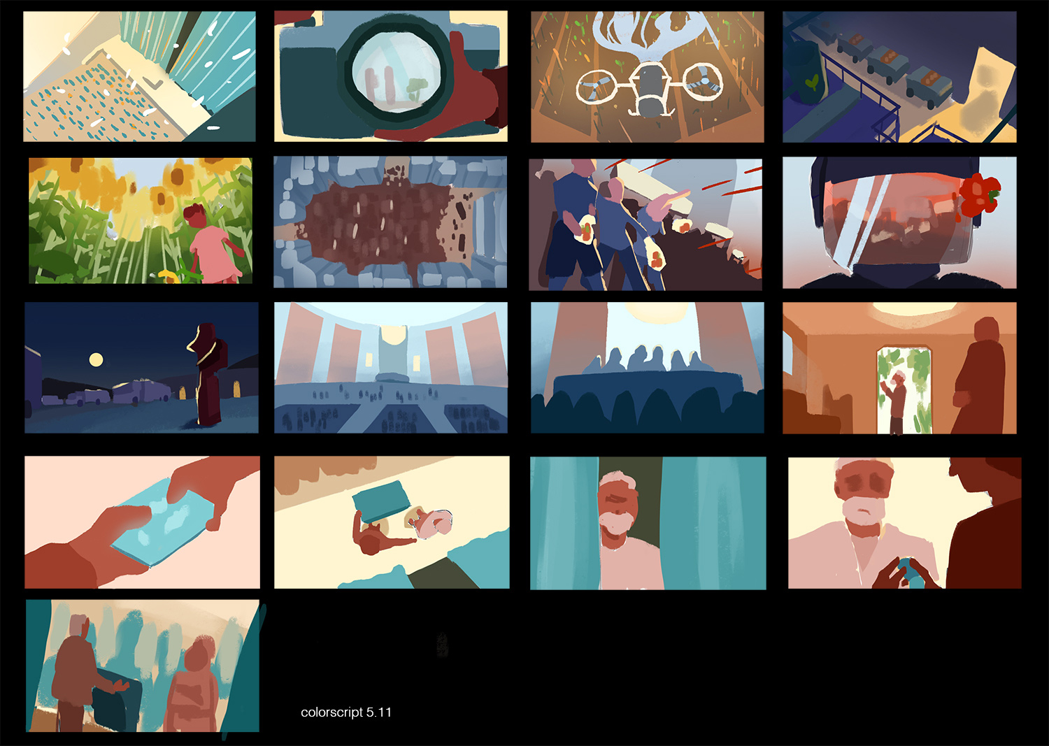color keys and thumbnails