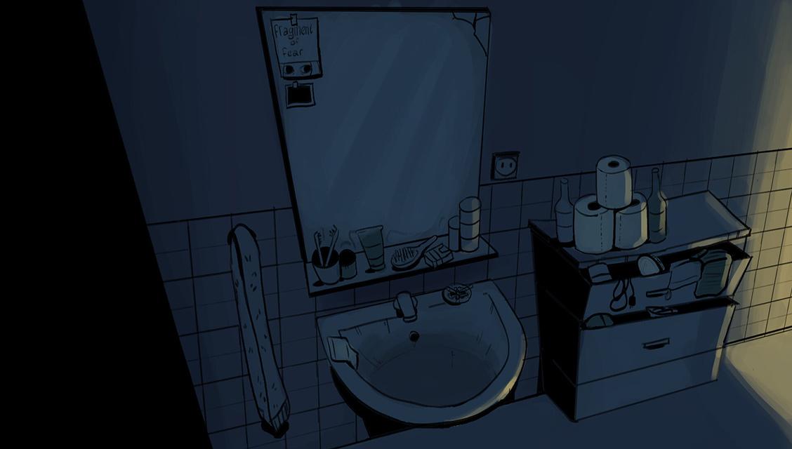 Felicia Kiessling - badkamer tandenpoetsen