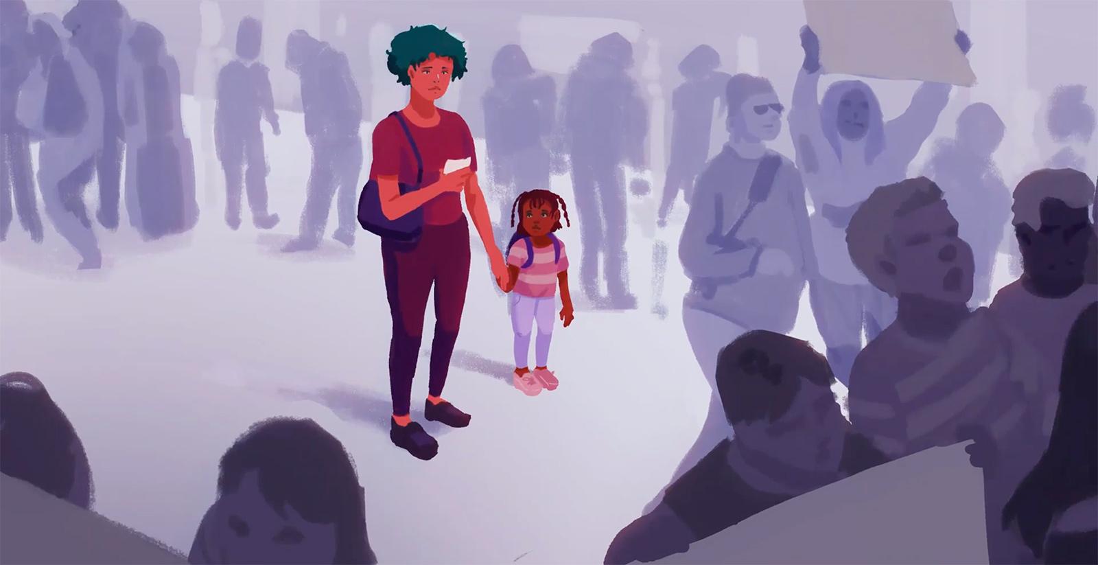 Robin, een interactief levensverhaal, character artwork